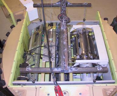 v autoloaderu může být připraveno až 17 nábojů