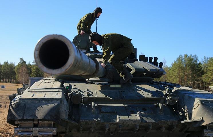Modernized T-72BZ© TASS/Ruslan Shamukov