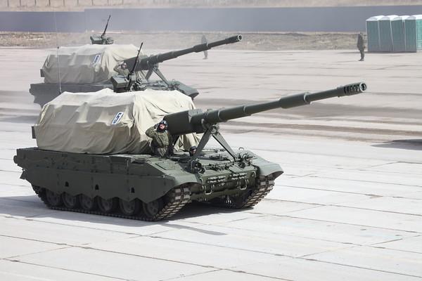Samohybná 152mm houfnice 2S35 Koalicija-SV