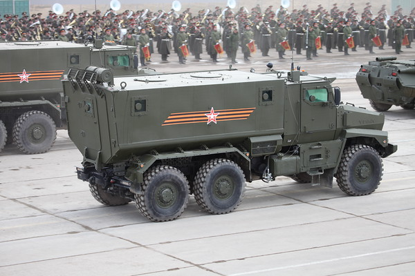 Tajfun-U vozidlo odolné protinám a přepadům (MARP)