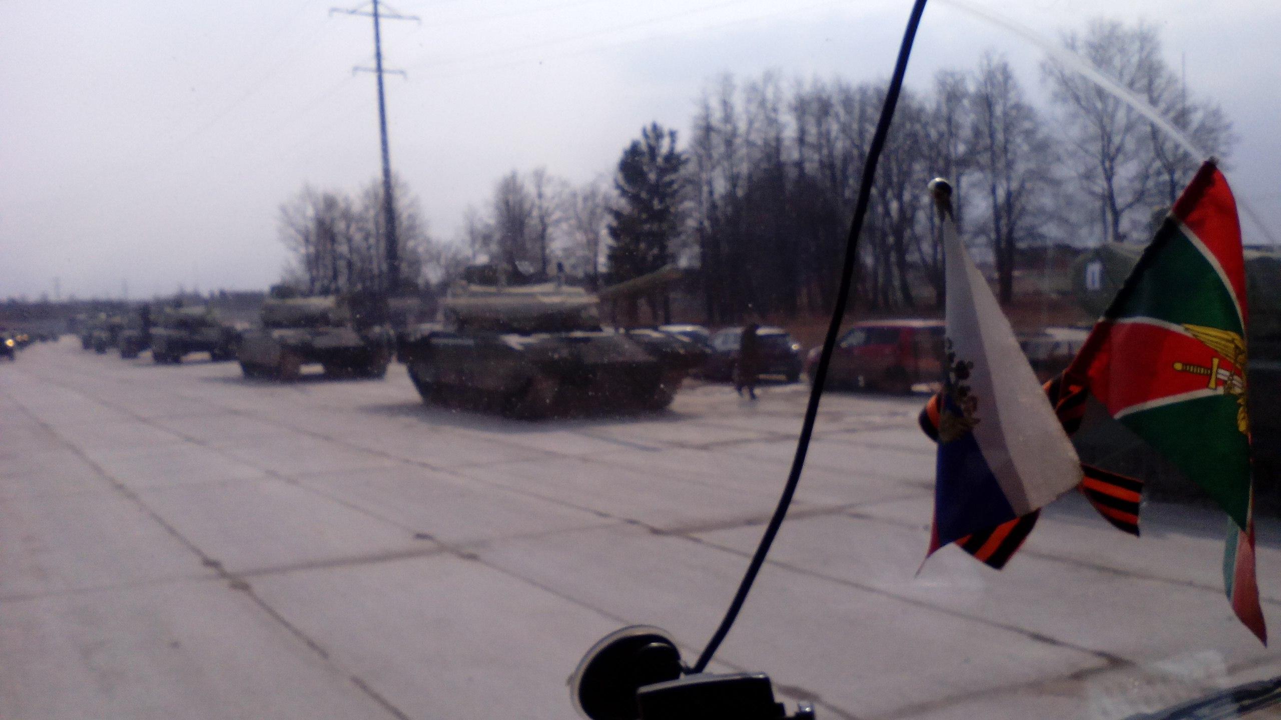 Kolona tanků Armata